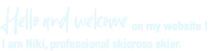 Bonjour et bienvenue sur mon site web ! Je suis Niki Lehikoinen, un jeune skier de skicross professionel.